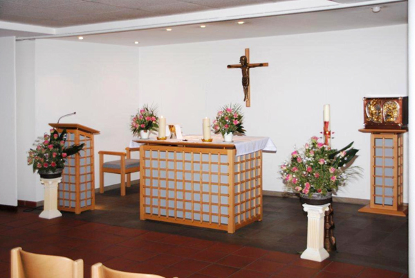 Kapelle Altarraum